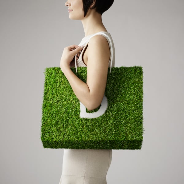 Davidson Branding We Grow Business Retail Grass Bag Square