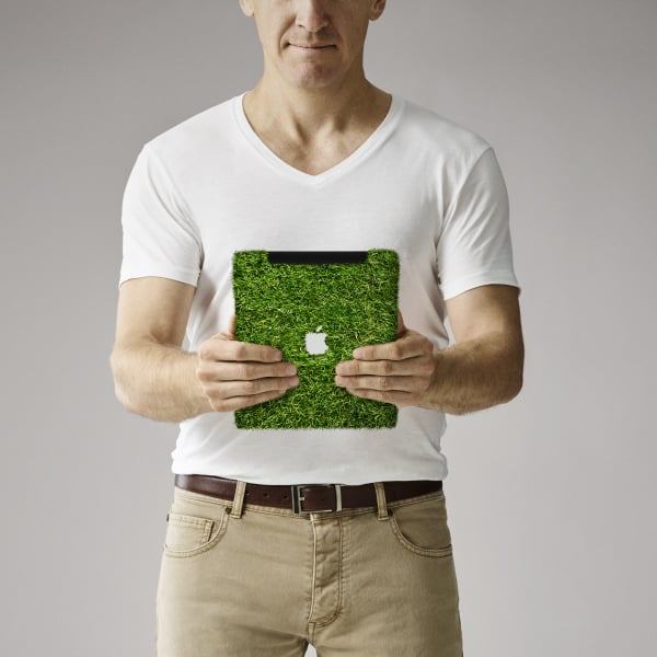 Davidson Branding We Grow Digital iPad Grass