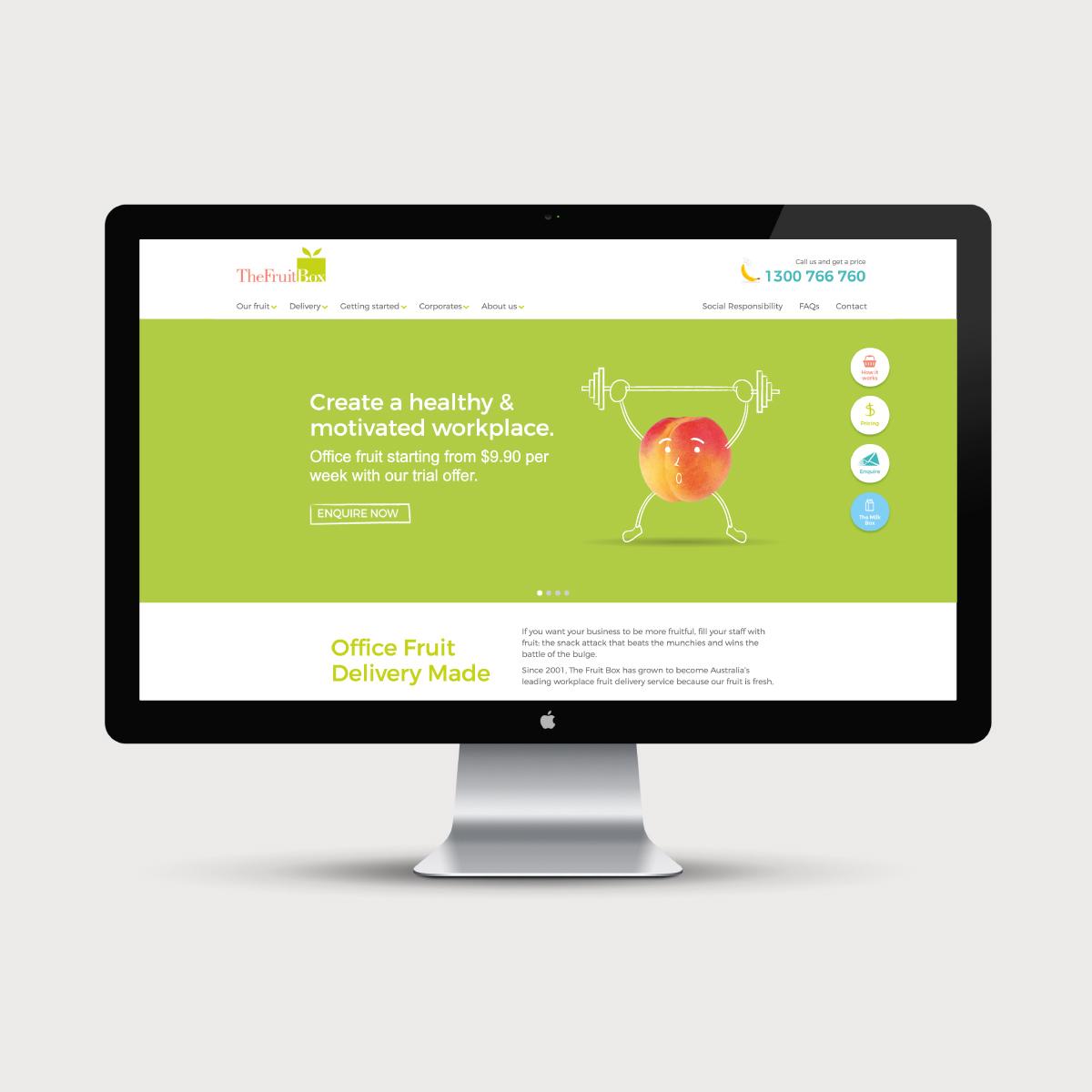 The Fruit Box Website