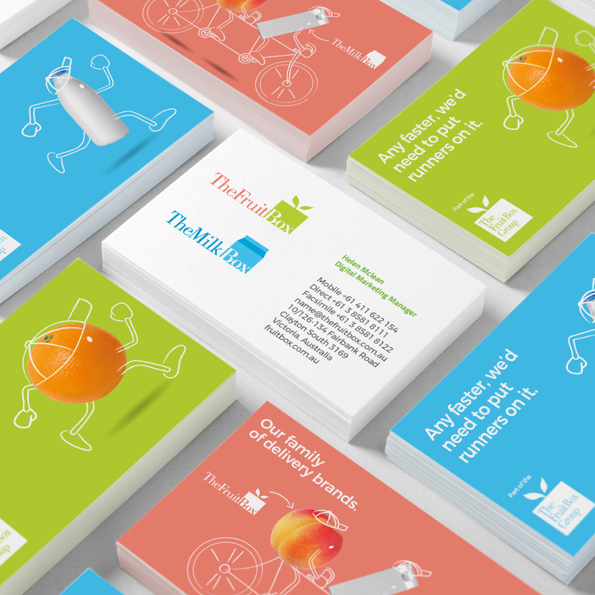 The Fruit Box Business Cards