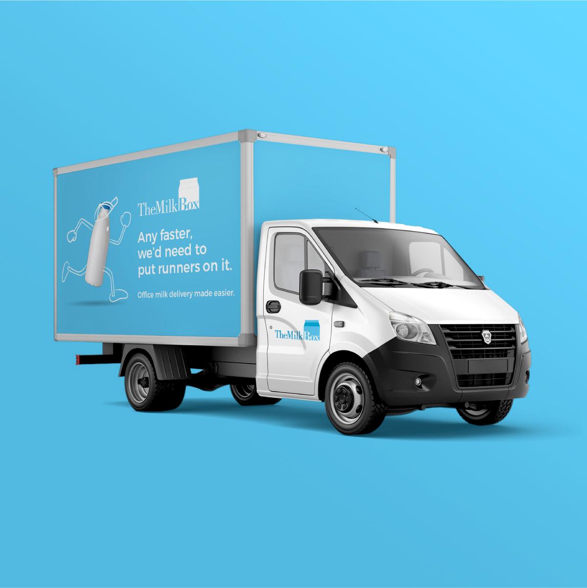The Fruit Box Truck Branding