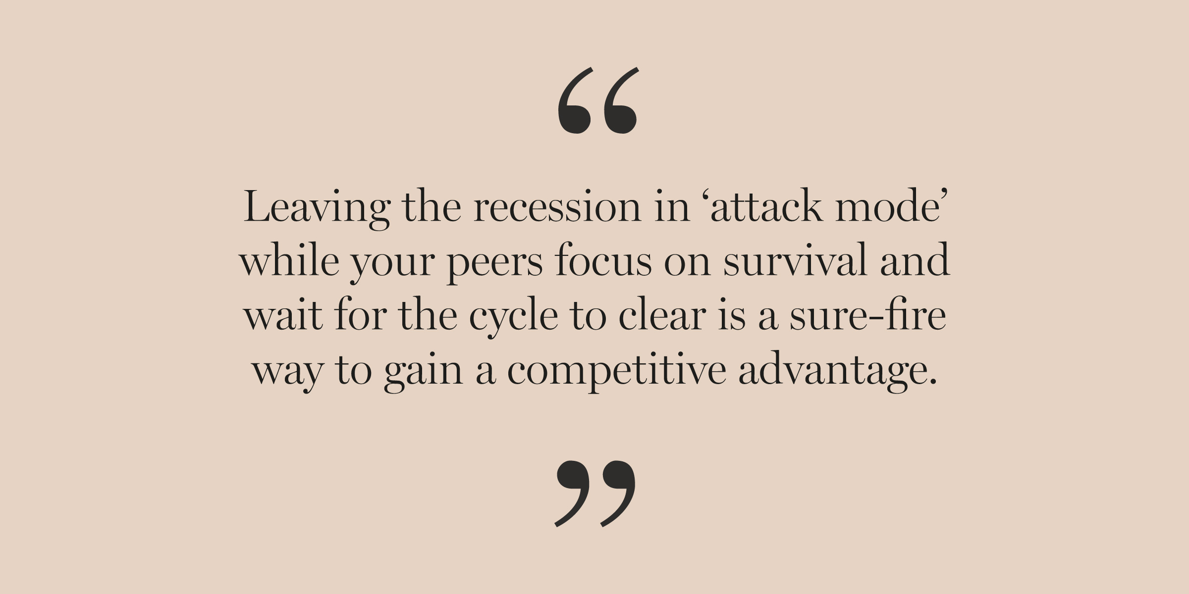12 Strategies to Survive & Thrive a Recession Quote