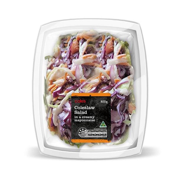 Davidson Branding FMCG Packaging Coles Coleslaw Salad