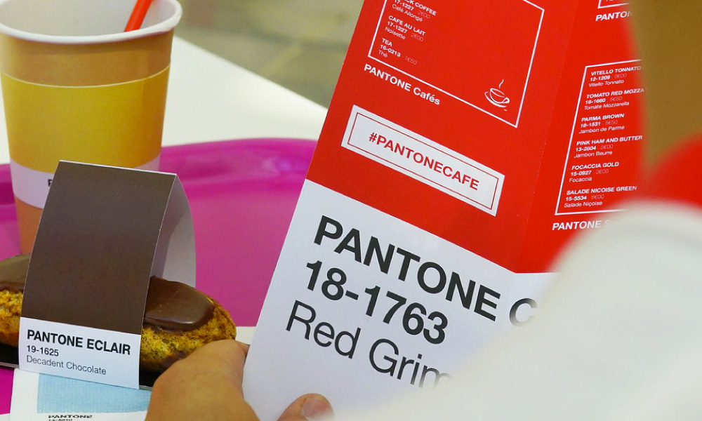 Pantone Pop-up