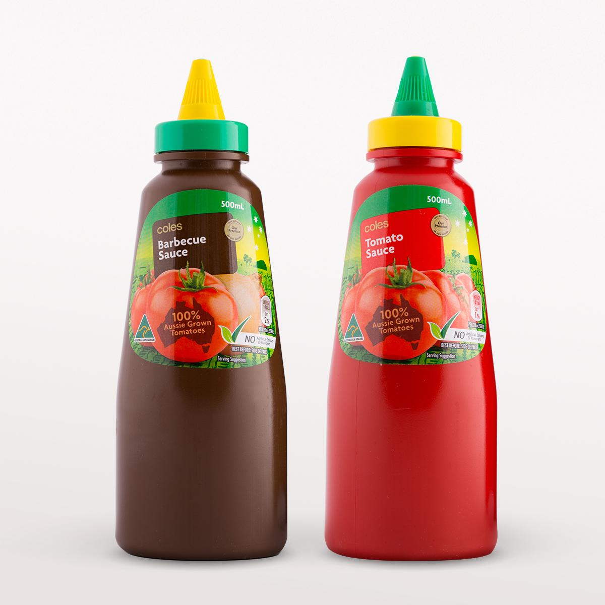 Davidson Branding FMCG Packaging Coles Sauce