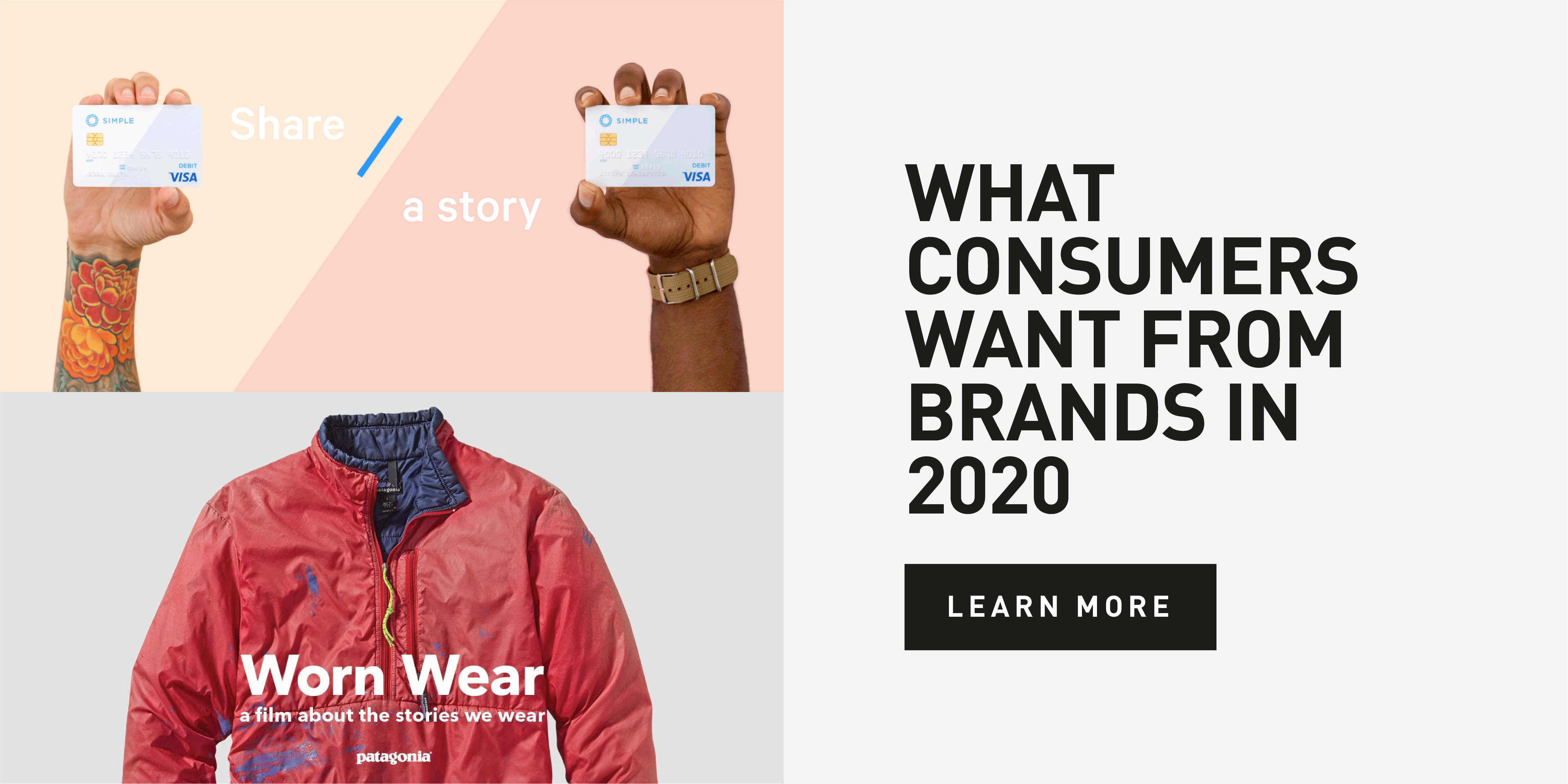 What Consumers Want From Brands 2020 Cover