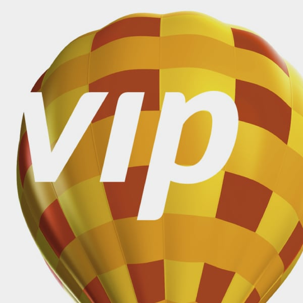 Davidson Branding Corporate VIP Logo Graphic Visual Language Balloon