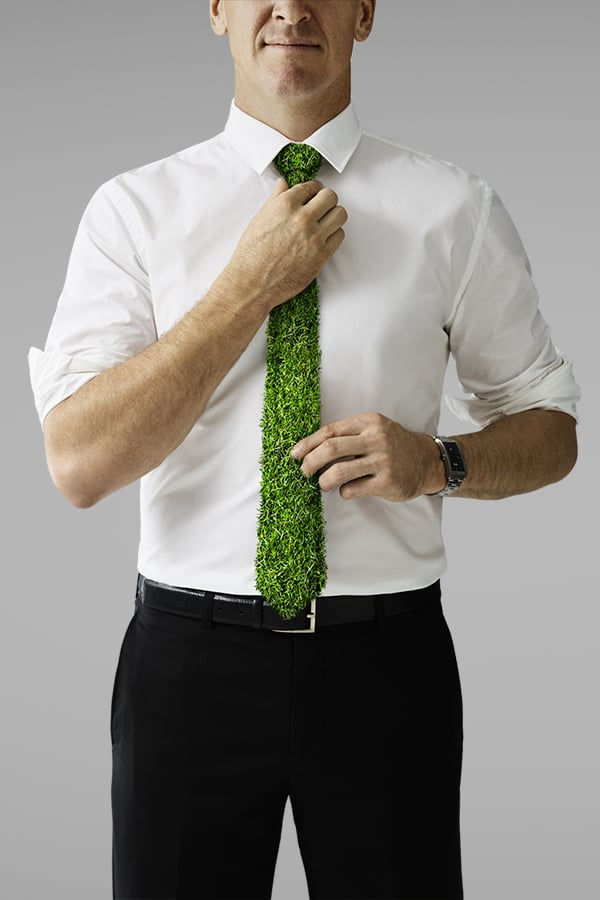 Davidson Branding We Grow Business & Brands Corporate Enterprise Grass Tie Shirt Portrait