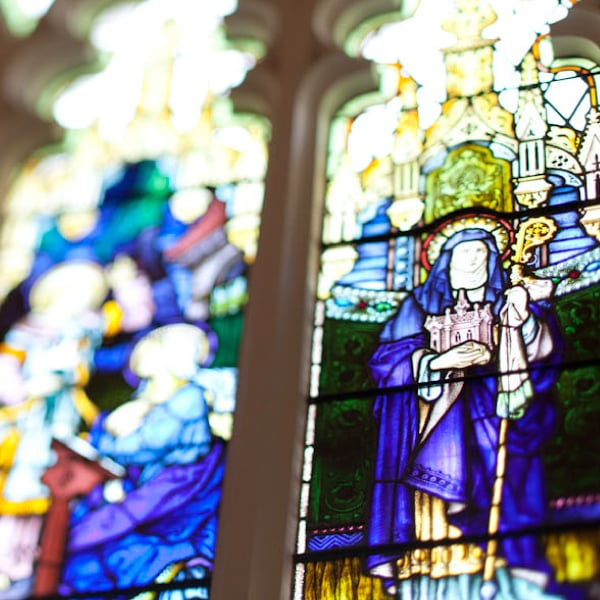 Davidson Branding Corporate Catholic Church Insurance CCI Stained Glass Window