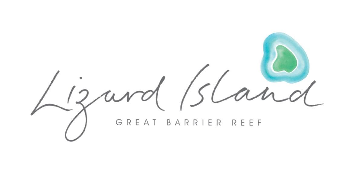 Davidson Branding Corporate Lizard Island Brand Identity Logo Design Water Wildlife Watercolour