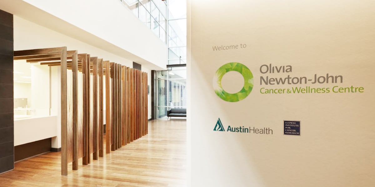Davidson Branding Corporate Olivia Newton-John Cancer & Wellness Centre Brand Strategy Brand Identity Logo Design Signage