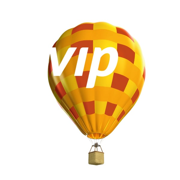 Davidson Branding VIP Packaging Corporate Brand Identity Logo Design Photography Dynamic Hot Air Balloon