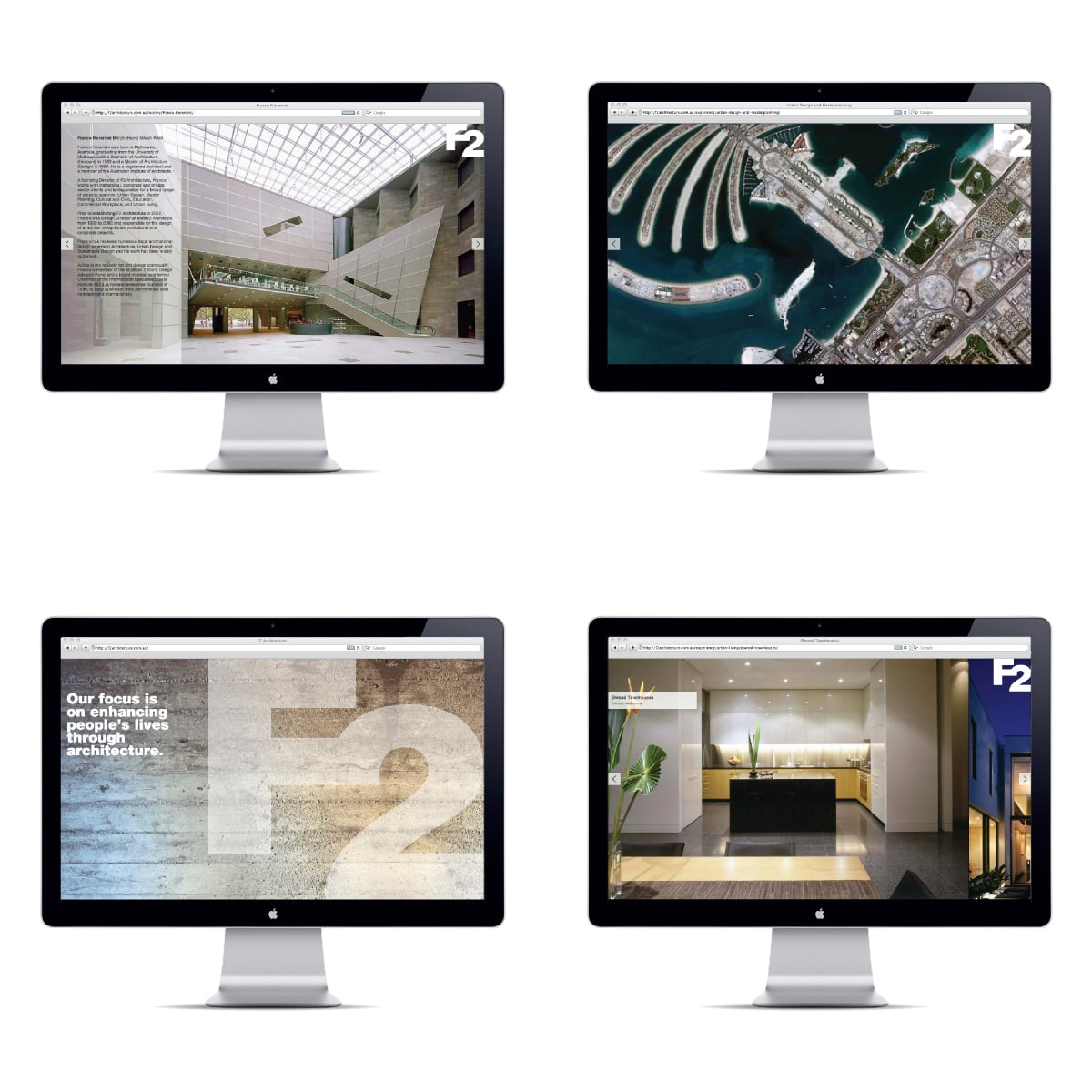 Davidson Branding Digital F2 Architecture Web Pages