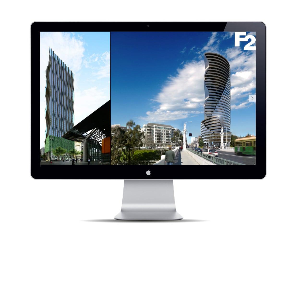 Davidson Branding Digital F2 Architecture Web Homepage