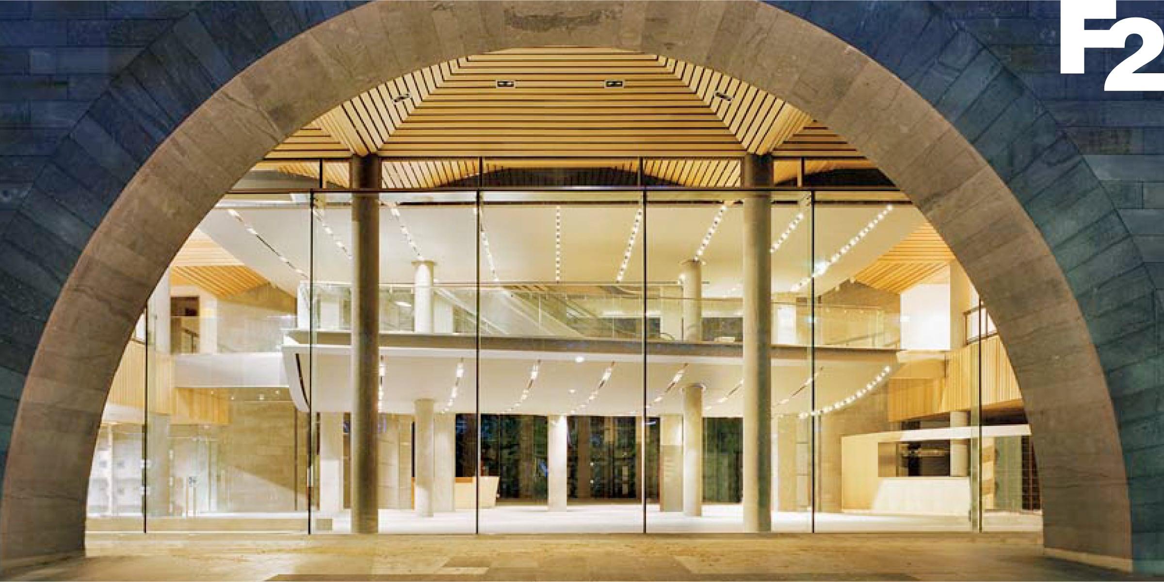 Davidson Branding Digital F2 Architecture Entrance Logo Banner