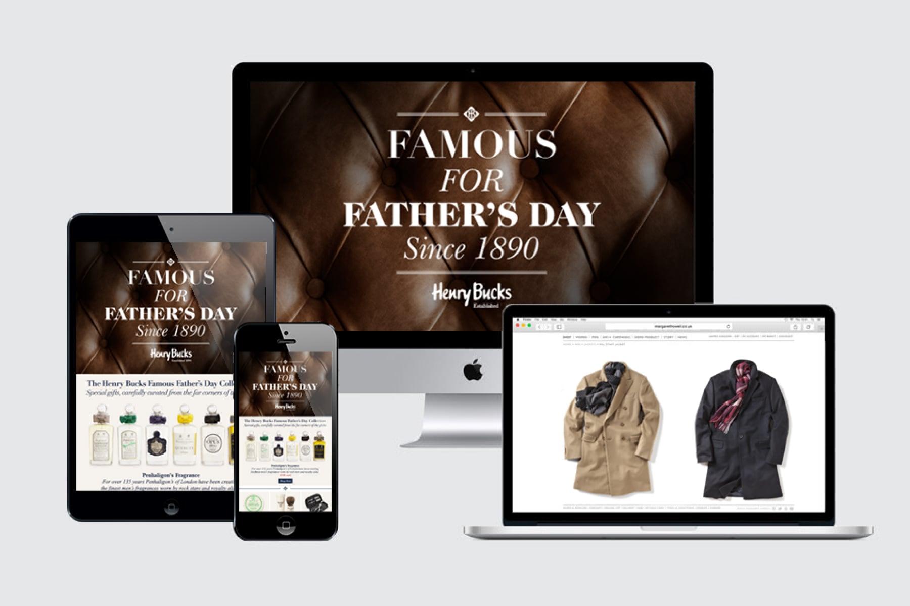 Davidson Branding Digital Henry Bucks Online Presence