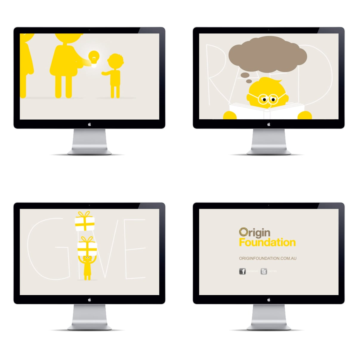 Davidson Branding Digital Origin Foundation Brand Story Animation Stills