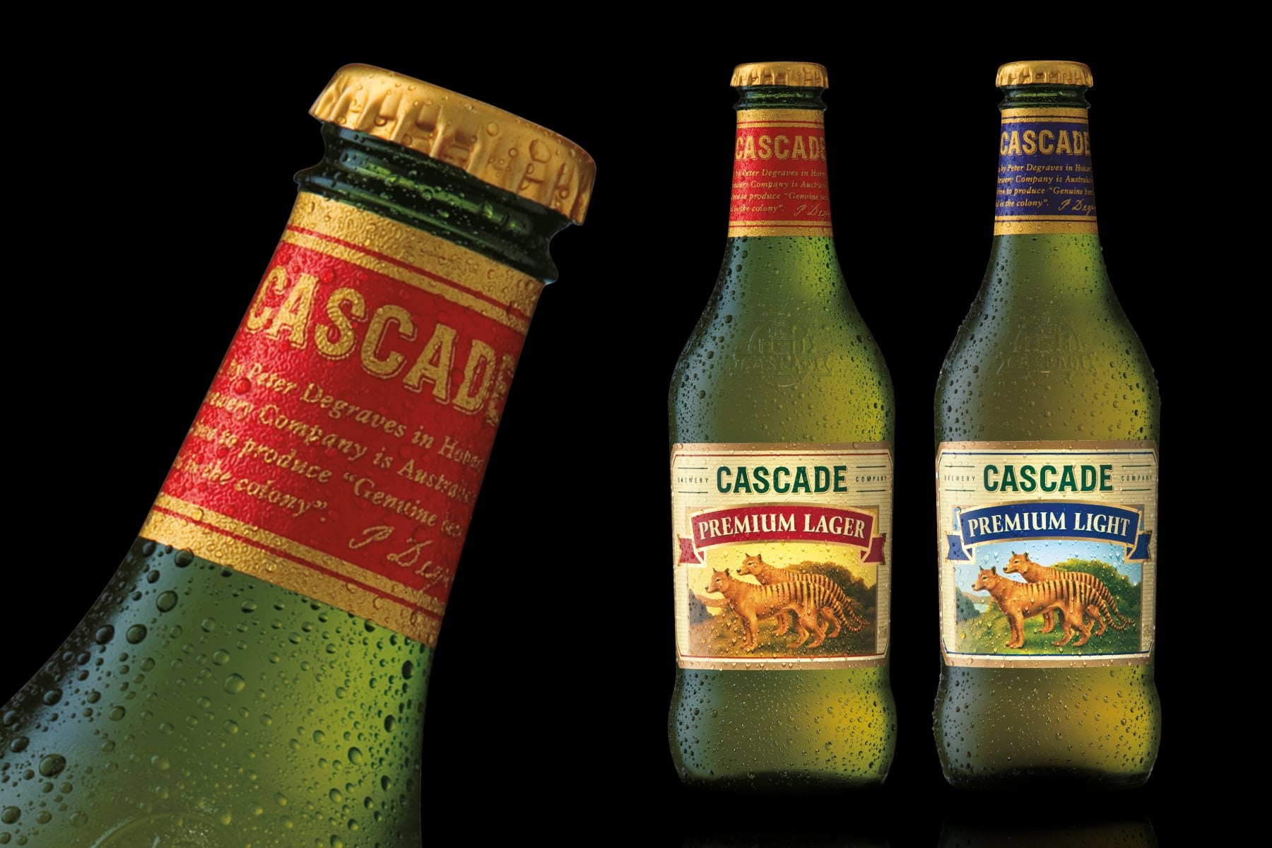Davidson Branding Carlton United Breweries FMCG Cascade Range Packaging