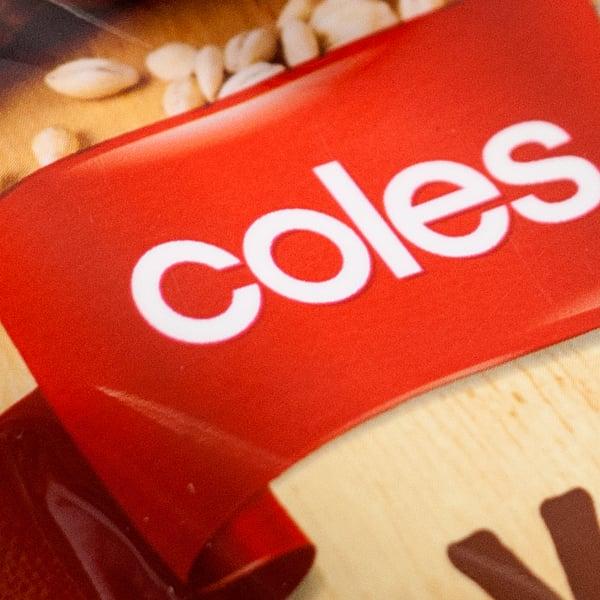 Davidson Branding FMCG Coles Red Ribbon