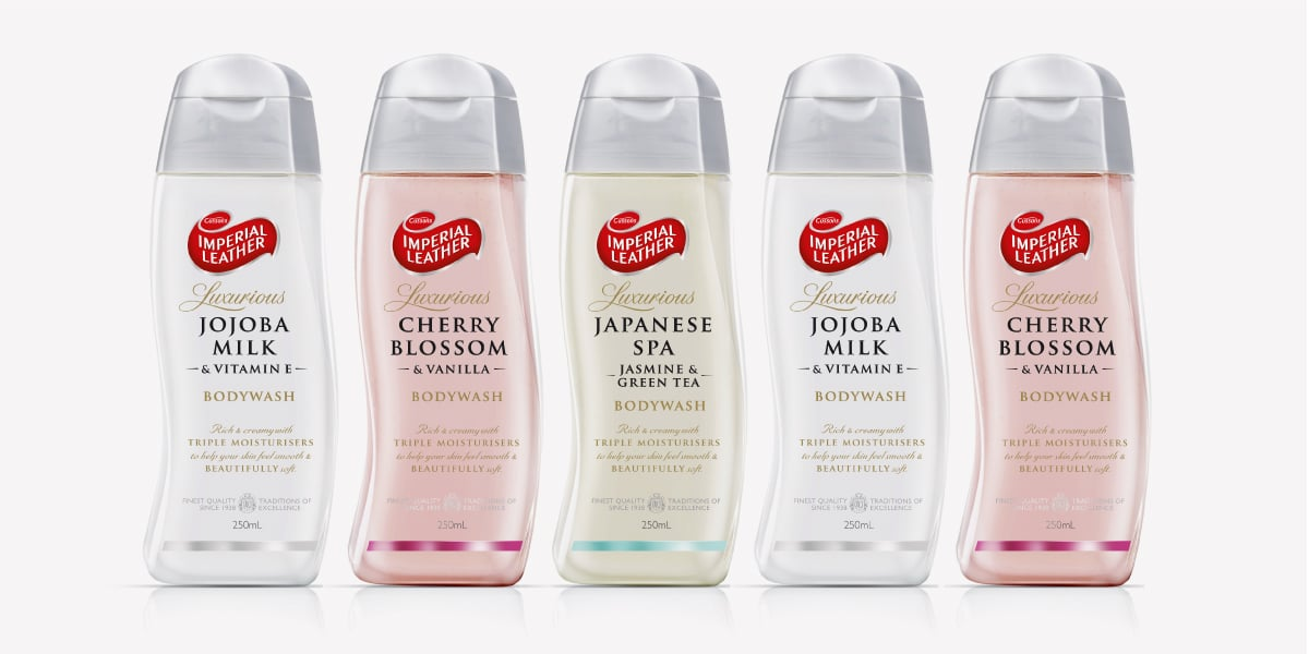 Davidson Branding FMCG PZ Cussons Imperial Leather Range