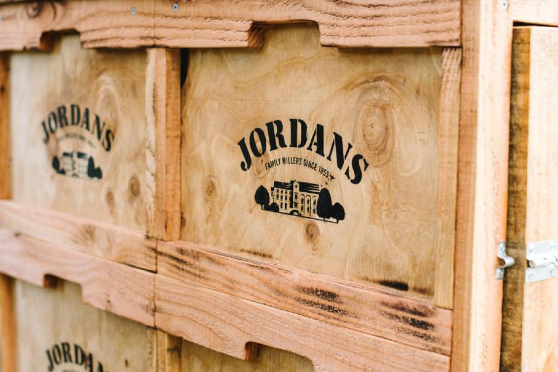 Davidson Branding FMCG Packaging Jordans Logo