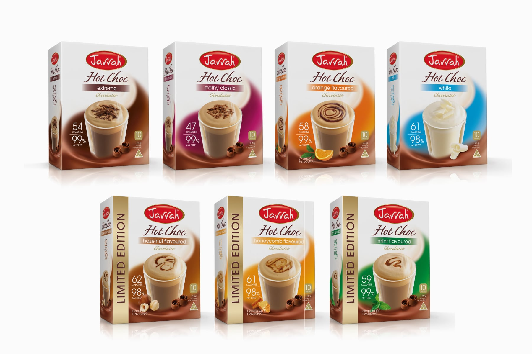 Davidson Branding FMCG Packaging Jarrah Twinings Range