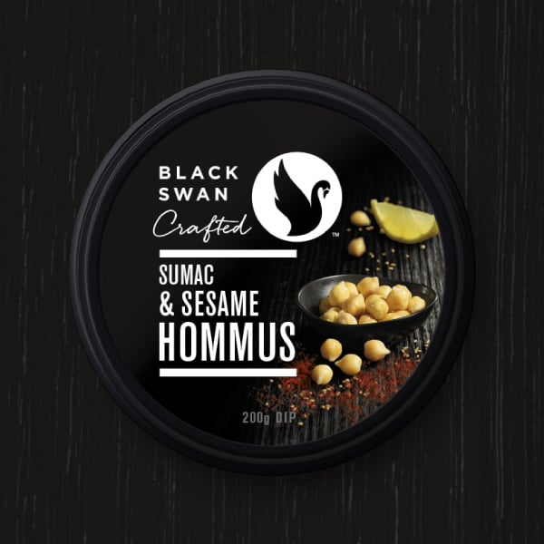 Davidson Branding FMCG Black Swan Crafted Packaging Hommus