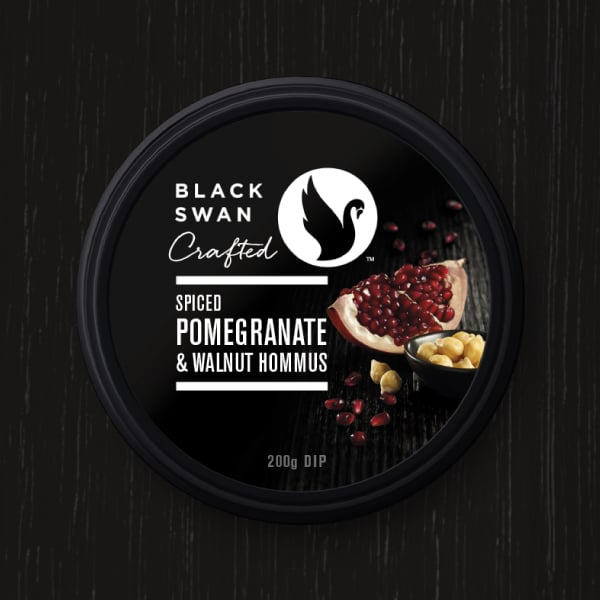 Davidson Branding FMCG Black Swan Crafted Packaging Pomegranate