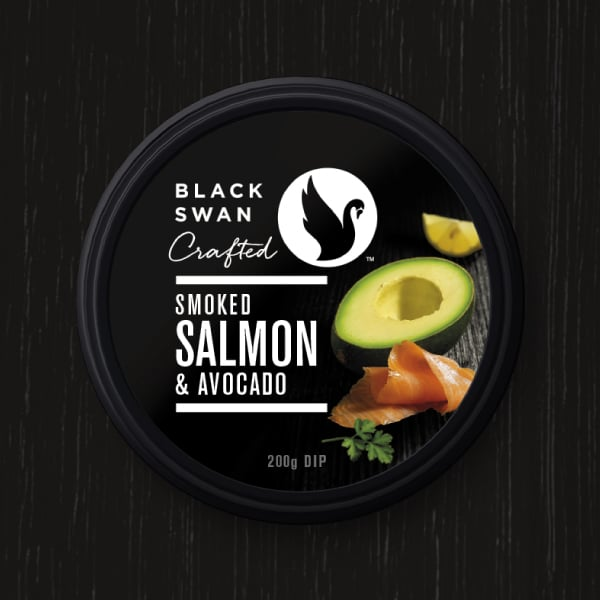 Davidson Branding FMCG Black Swan Crafted Packaging Salmon