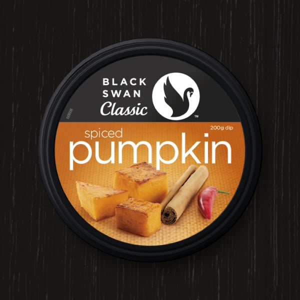 Davidson Branding FMCG Black Swan Classic Packaging Spiced Pumpkin