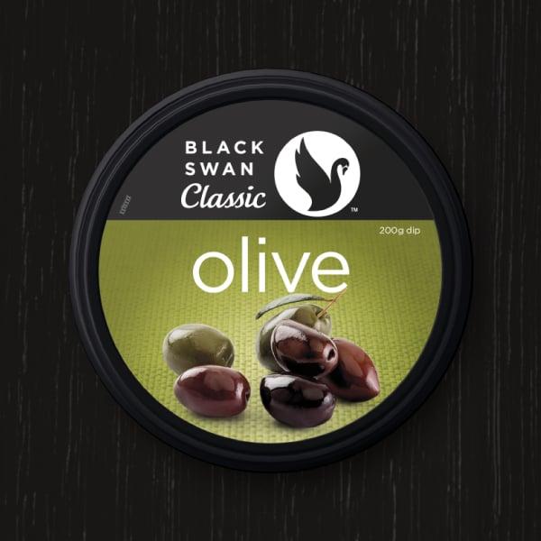 Davidson Branding FMCG Black Swan Classic Packaging Olive