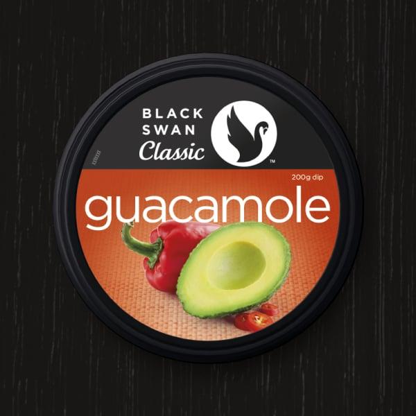 Davidson Branding FMCG Black Swan Classic Packaging Guacamole