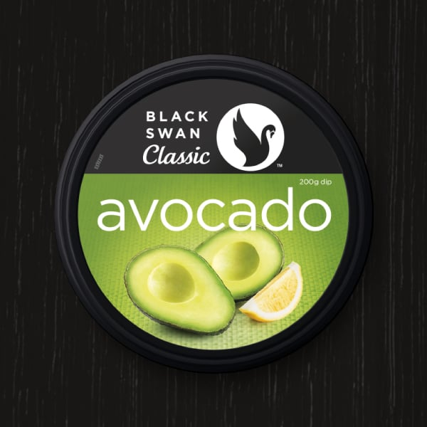 Davidson Branding FMCG Black Swan Classic Packaging Avocado