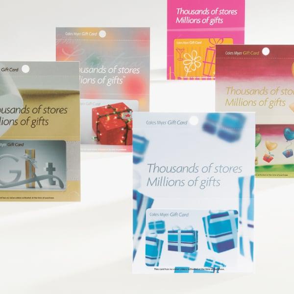 Davidson Branding Retail Coles Myer Gift Card Range