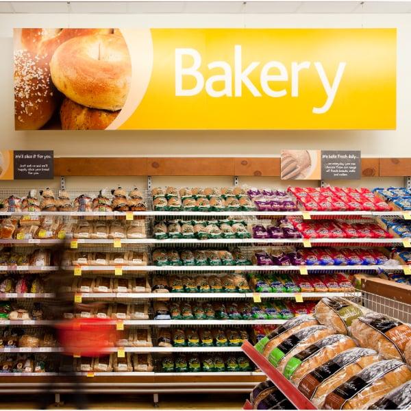 Davidson Branding Retail Coles Supermarket Signage Bakery