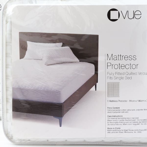 Davidson Branding Retail Myer House Brands Vue Mattress Packaging