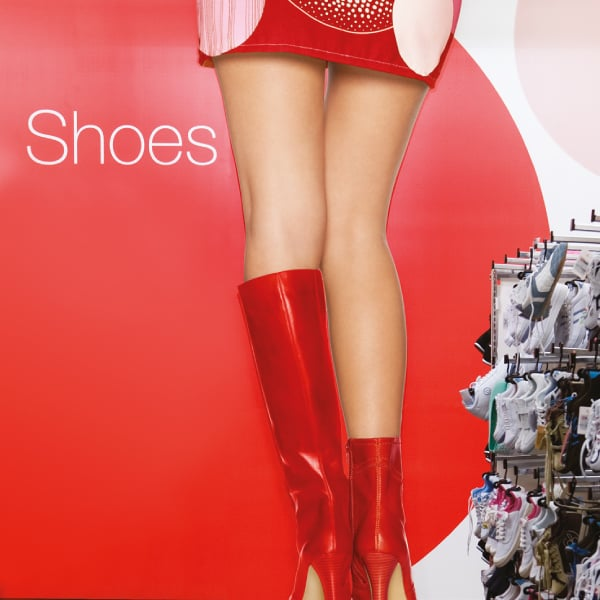 Davidson Branding Retail Target Store Photography Girl Red Shoes