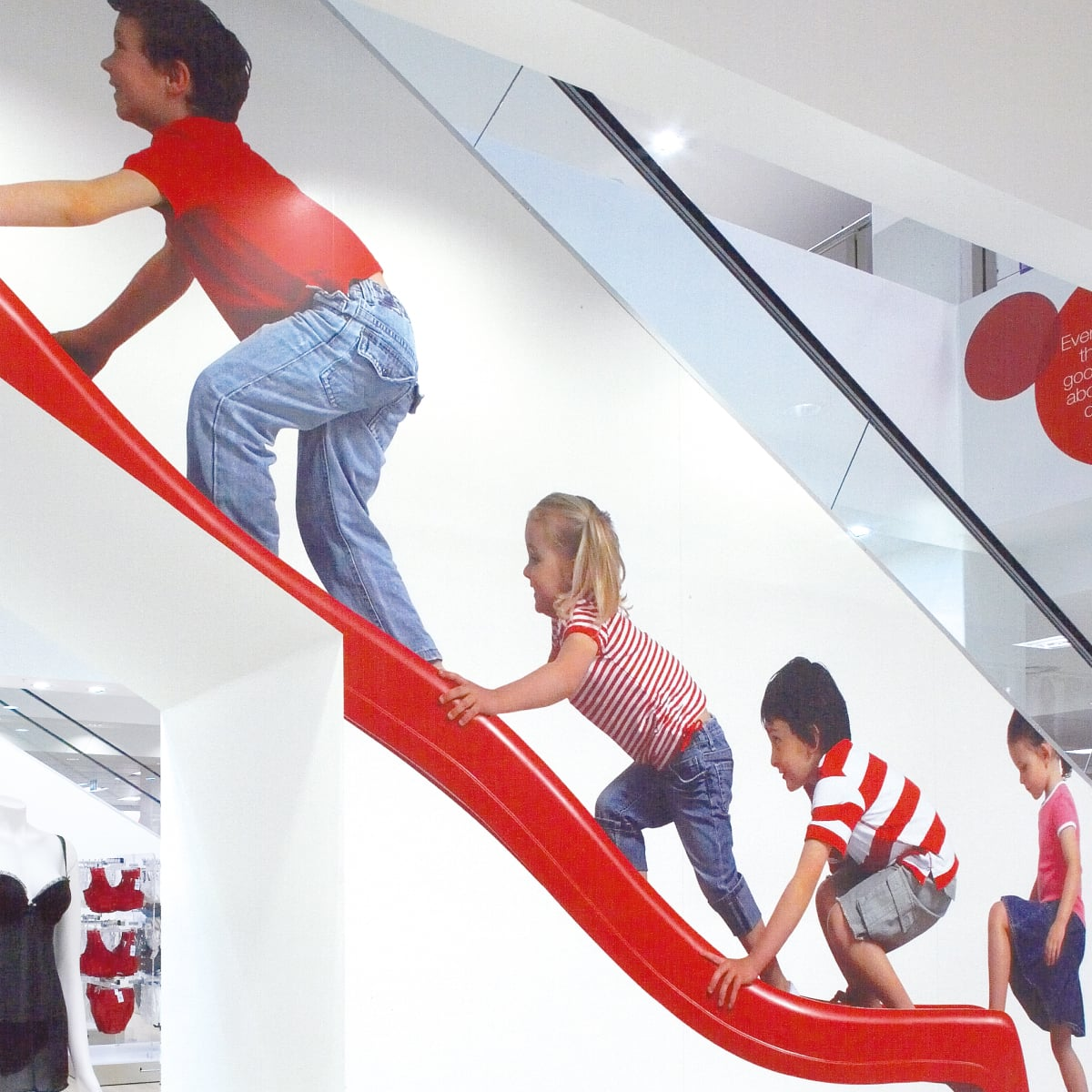 Davidson Branding Retail Target Store Staircase Photography