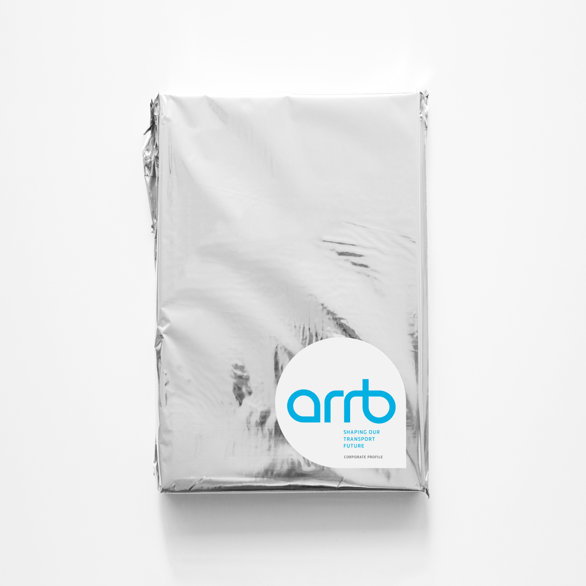 ARRB Brand Identity Brochure Foil Package Design
