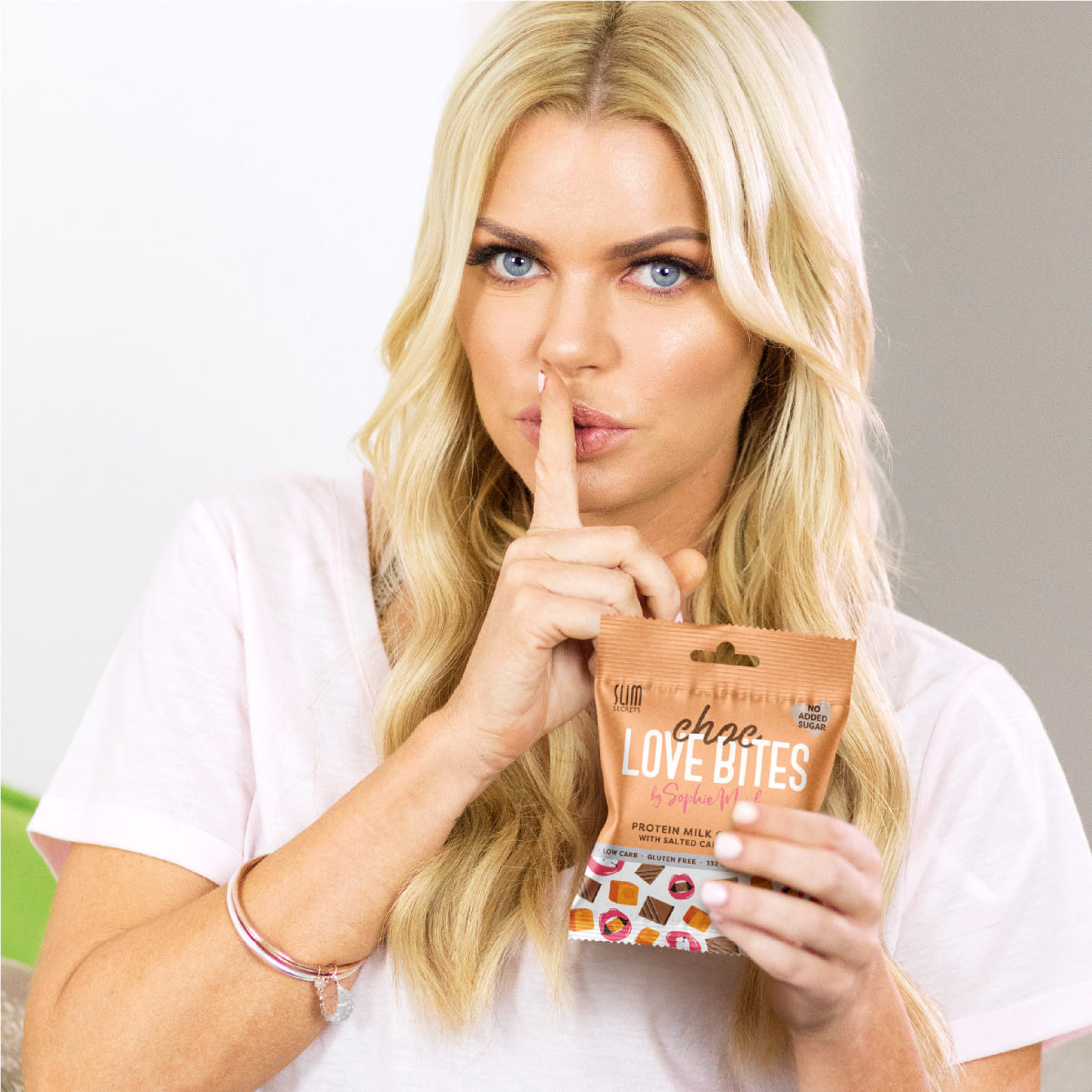 Choc Love Bites Slim Secrets Chocolate Chocolate Bites Sophie Monk Dark Chocolate Milk Chocolate