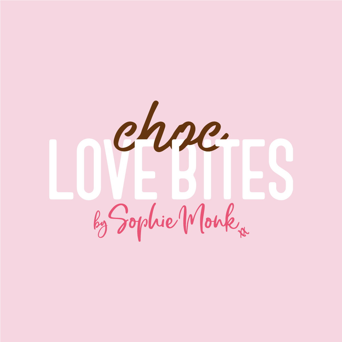 Choc Love Bites Slim Secrets Chocolate Chocolate Bites Sophie Monk Logo