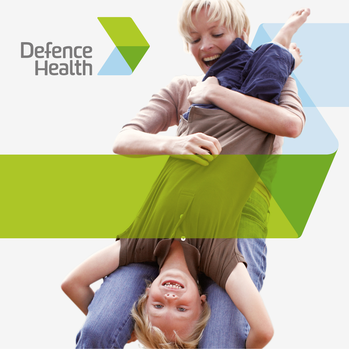 Defence Health Brand Identity, Brand Strategy and Design