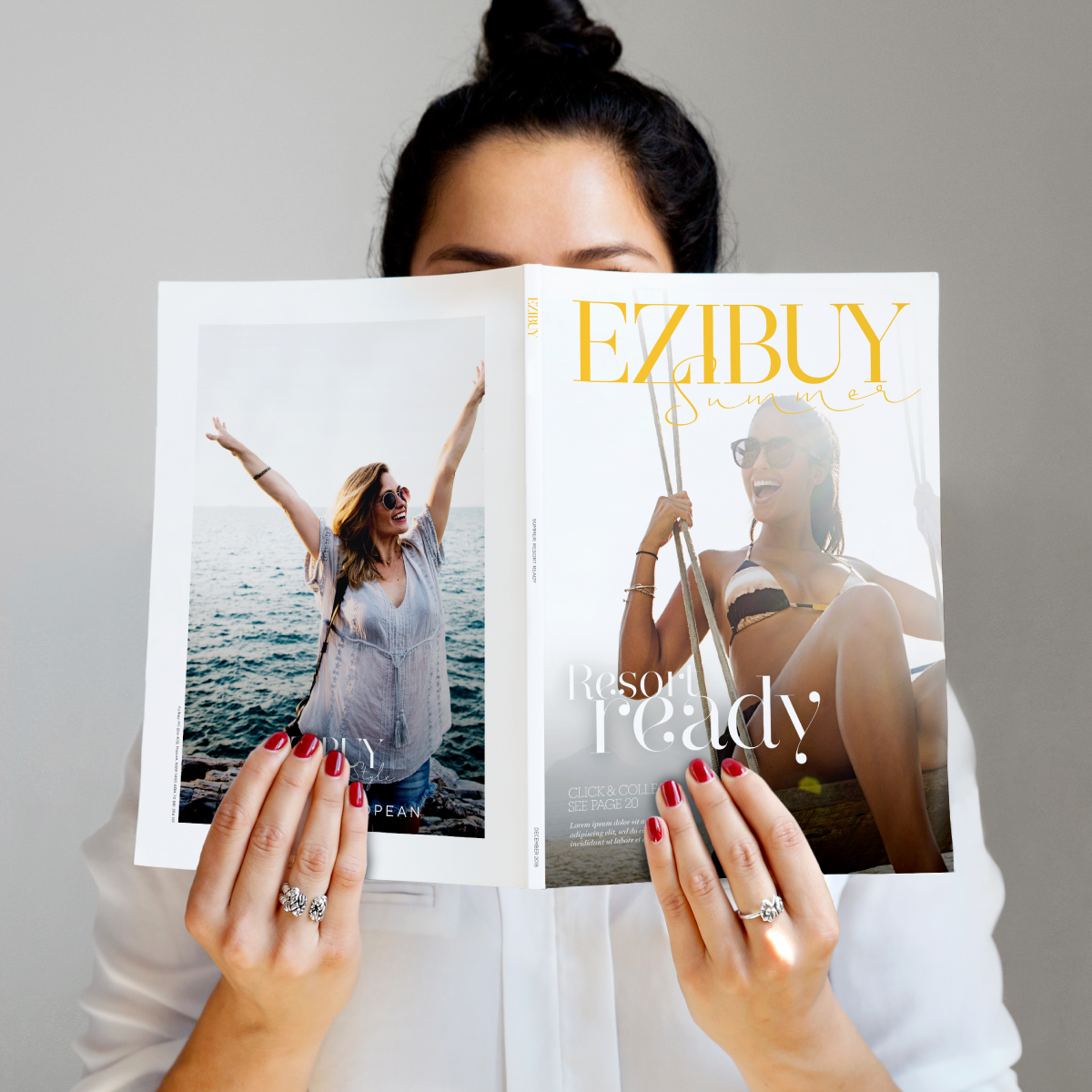 Ezibuy Brand Identity Catalogue Cover