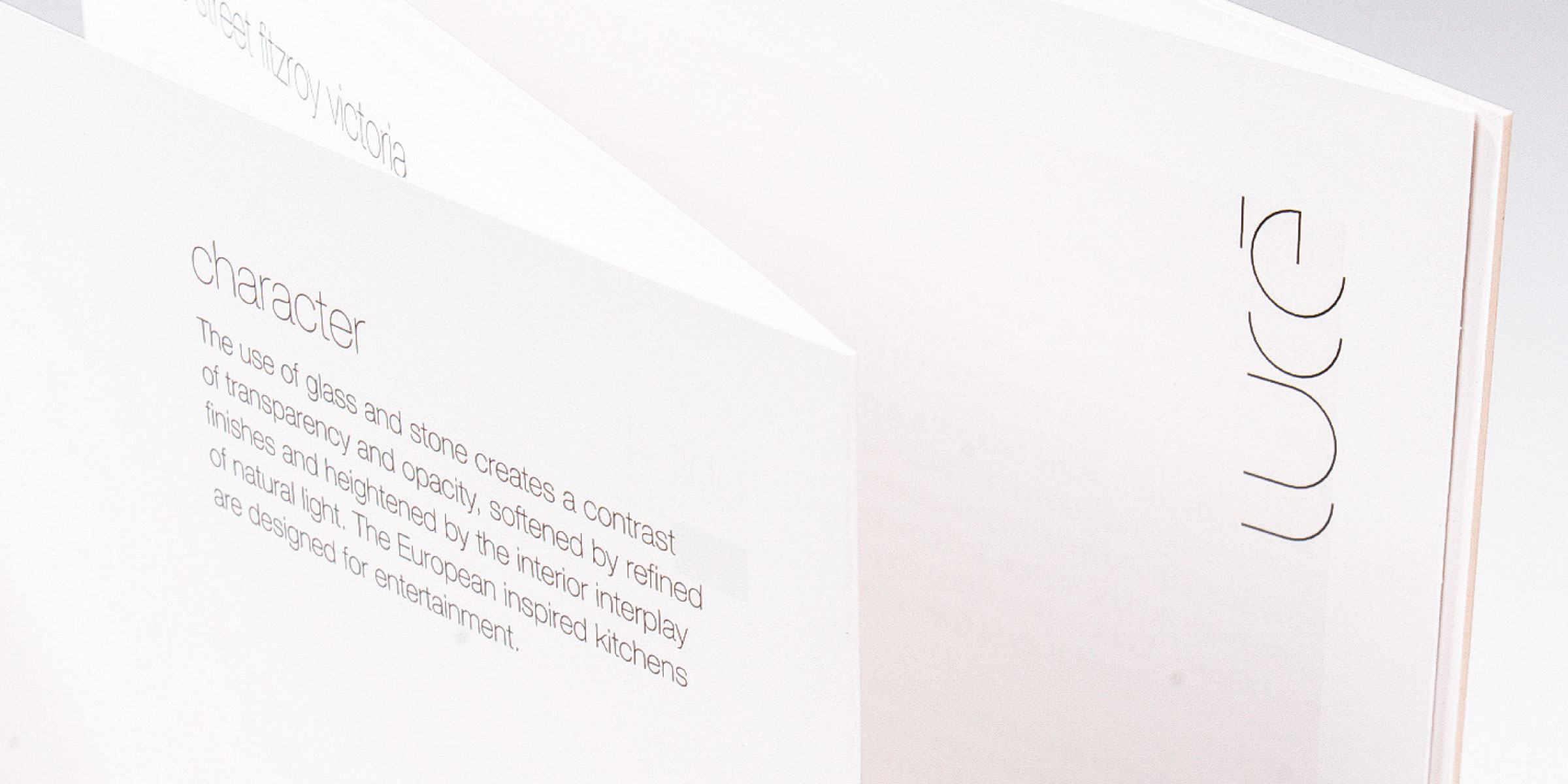 Luce Architecture Corporate Brand Identity Design