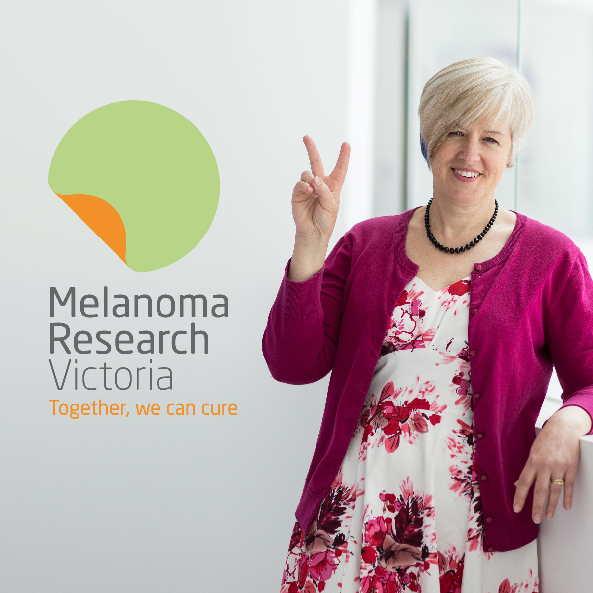 Melanoma Research Victoria Cancer Branding Corporate Davidson Branding Design