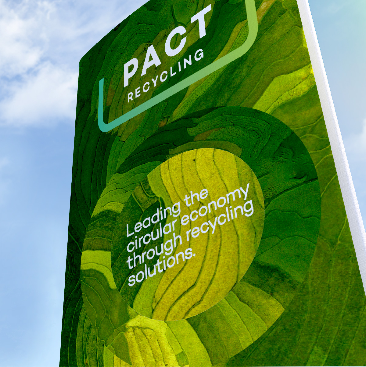 Pact Group Brand Identity Design Corporate Brand Signage