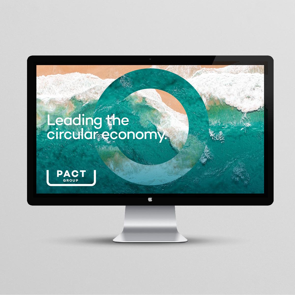 Pact Group Brand Identity Design Corporate Website Design