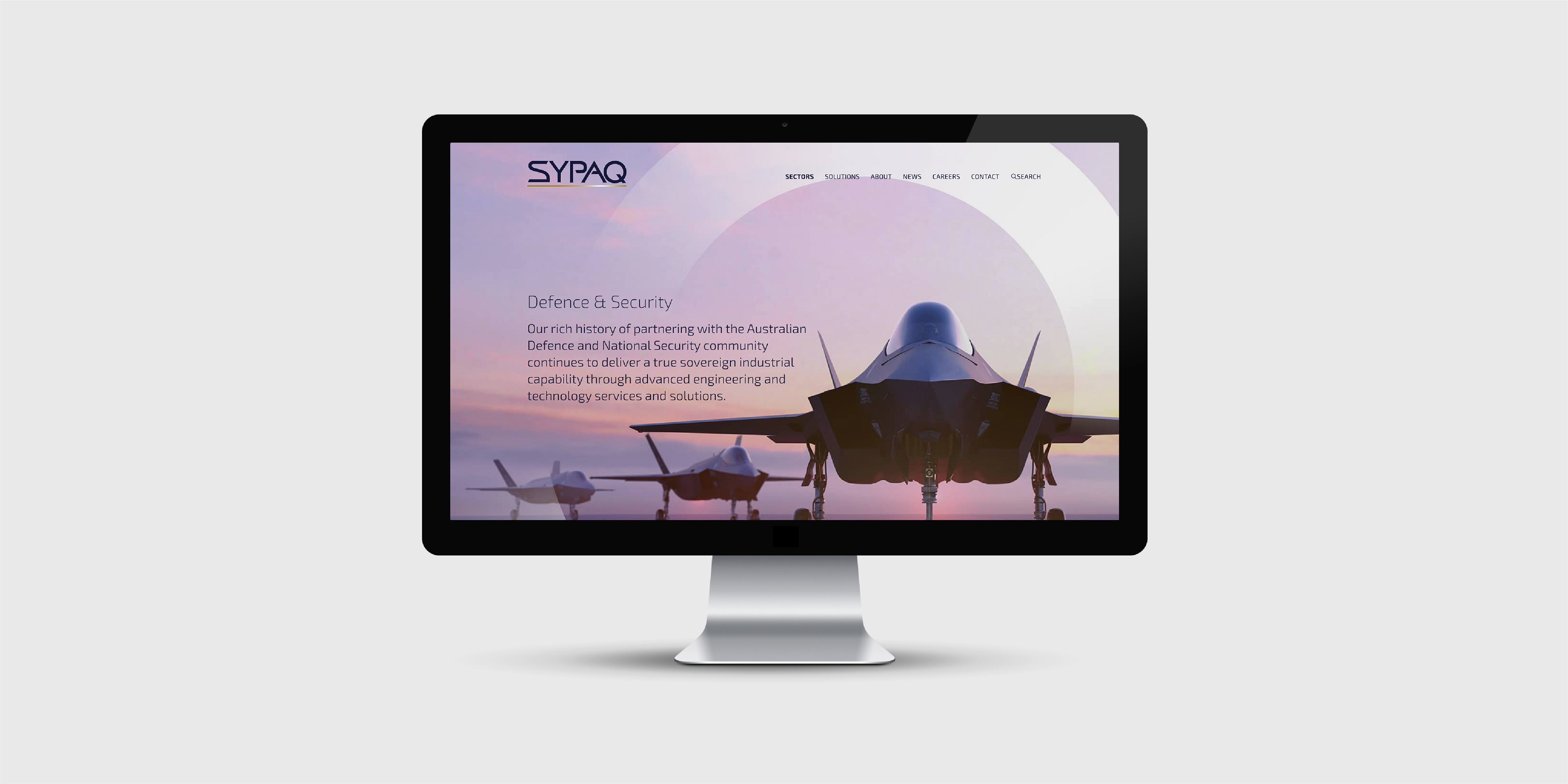 SYPAQ Website Design Redesign Digital