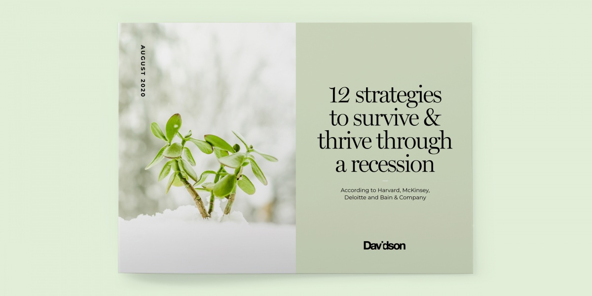12 Strategies to Survive & Thrive Through a Recession