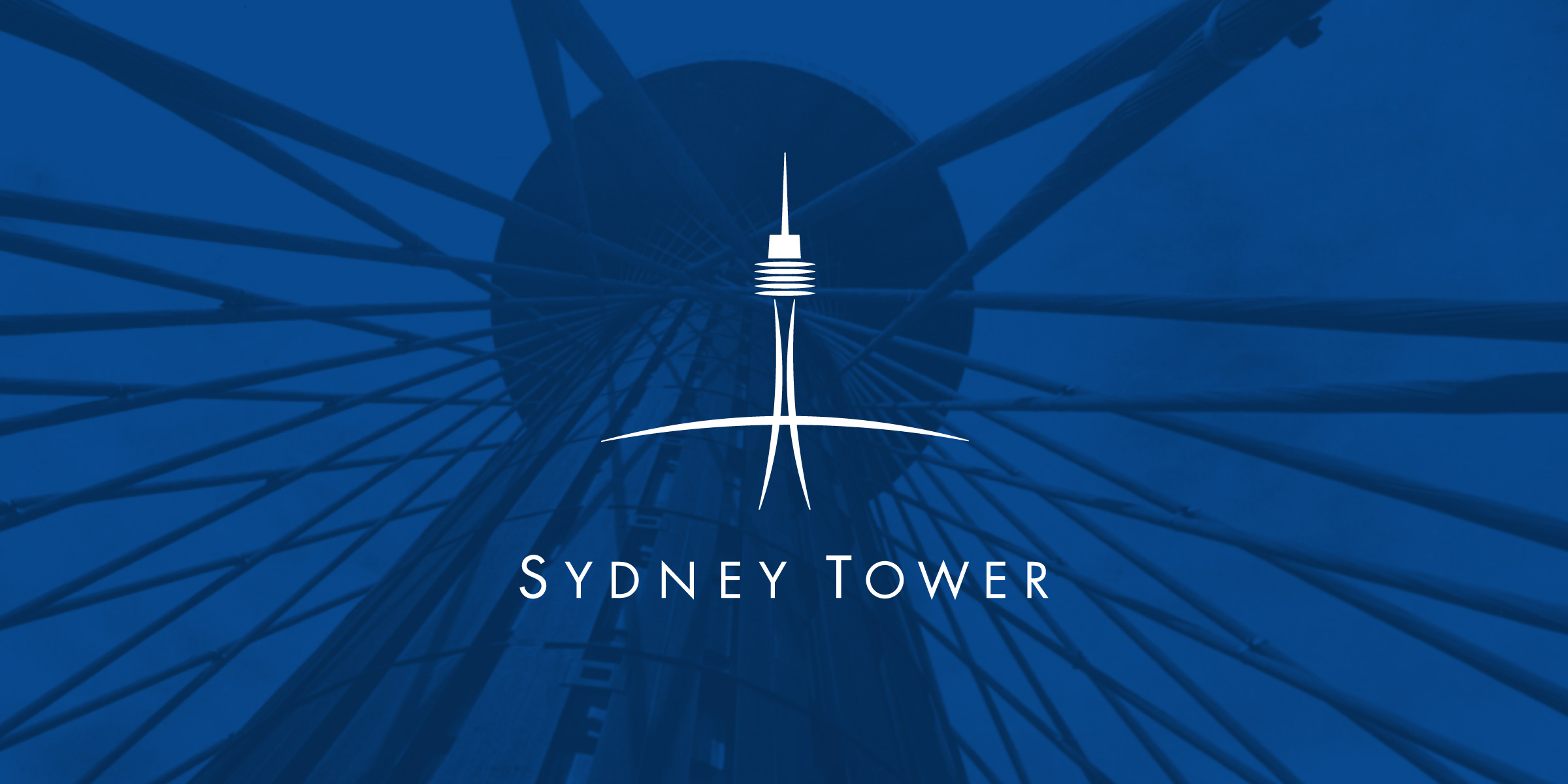 Sydney Tower Branding and Identity, Signage Design